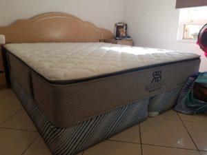 Our King size Divine Plus mattress on a existing King ensemble base